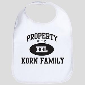 Property of Korn Family Bib