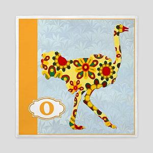 O is for Ostrich Queen Duvet