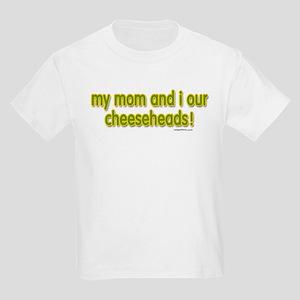 mom...cheeseheads Kids Light T-Shirt