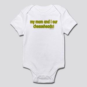 mom...cheeseheads Infant Bodysuit