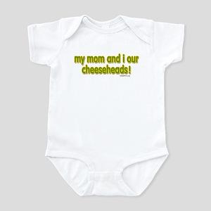 mom...cheeseheads Infant Bodysuit