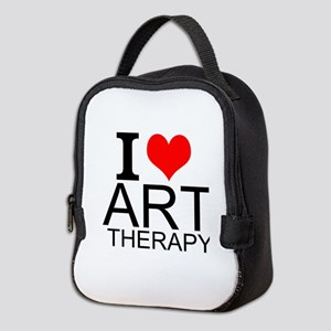 I Love Art Therapy Neoprene Lunch Bag