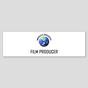 World's Greatest FILM PRODUCER Bumper Sticker