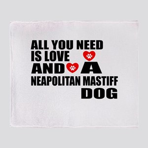 All You Need Is Love Neapolitan Mast Throw Blanket
