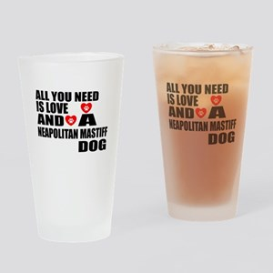 All You Need Is Love Neapolitan Mas Drinking Glass