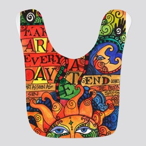 Create Art Every Day Polyester Baby Bib