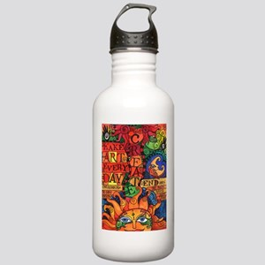 Create Art Every Day Stainless Water Bottle 1.0L