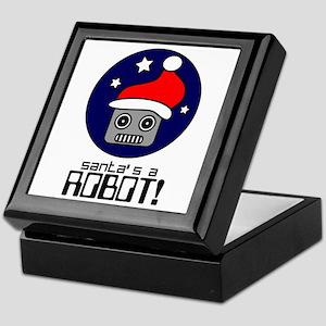 Santa's A Robot! Keepsake Box