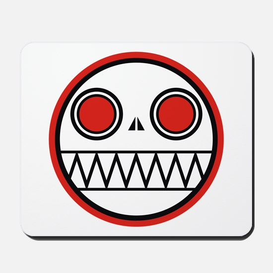 Cannibal Zombie Bot Mousepad