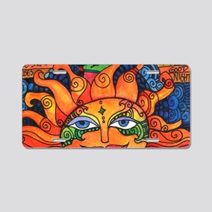 Create Art Every Day Aluminum License Plate