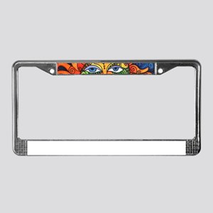 Create Art Every Day License Plate Frame