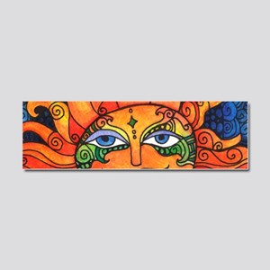 Create Art Every Day Car Magnet 10 x 3