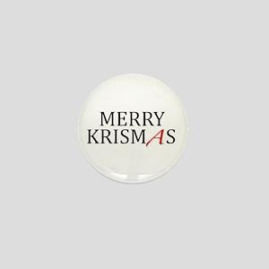 OUT Campaign Krismas Mini Button