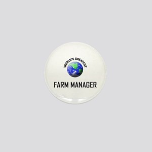 World's Greatest FARM MANAGER Mini Button