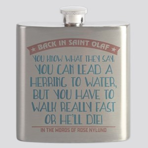 Lead a Herring to Water Flask