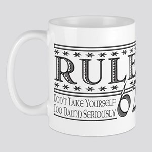 Rule 62 Alcoholism Saying Mug