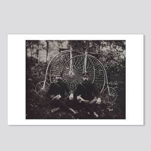 Bicycle Messengers Postcards (Package of 8)
