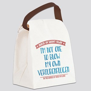 Blow My Own Vertubenflugen Canvas Lunch Bag