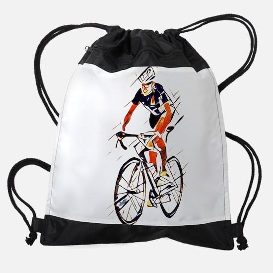 Cyclist Drawstring Bag