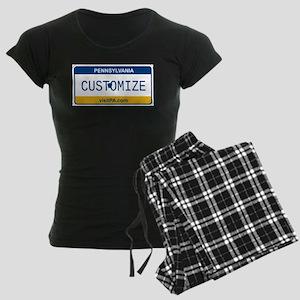 pa Women's Dark Pajamas