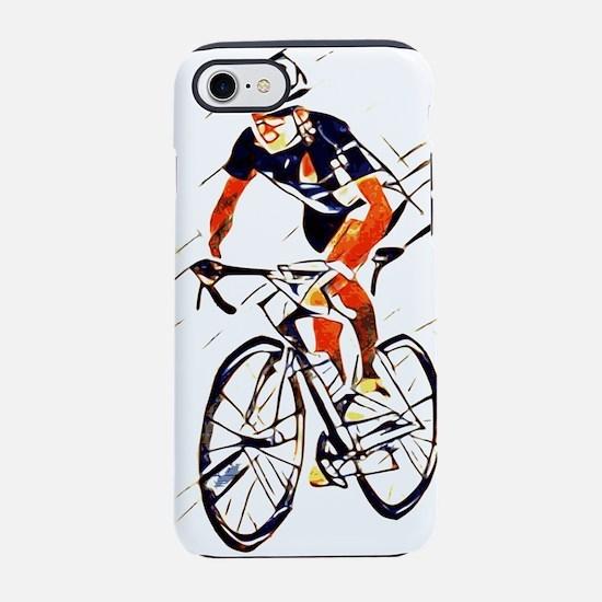 Cyclist iPhone 8/7 Tough Case