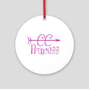 CC Princess Round Ornament