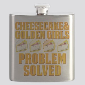Cheesecake & Golden Girls Flask