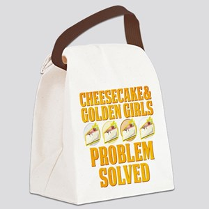 Cheesecake & Golden Girls Canvas Lunch Bag