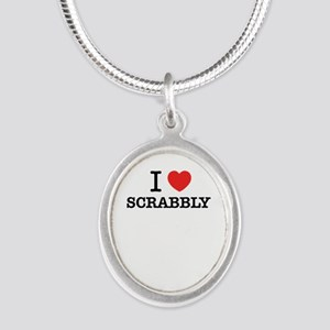 I Love SCRABBLY Necklaces
