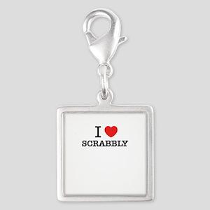 I Love SCRABBLY Charms