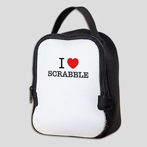 I Love SCRABBLE Neoprene Lunch Bag