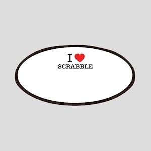 I Love SCRABBLE Patch