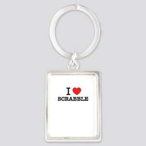I Love SCRABBLE Keychains