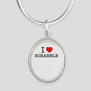 I Love SCRABBLE Necklaces