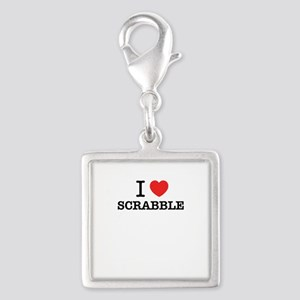 I Love SCRABBLE Charms