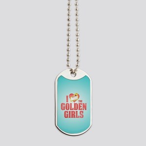 I Heart Golden Girls Dog Tags