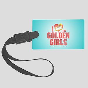 I Heart Golden Girls Large Luggage Tag