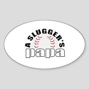 Baseball Papa Sticker