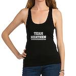 Heathen-White Racerback Tank Top
