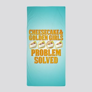 Cheesecake & Golden Girls Beach Towel