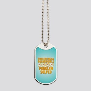 Cheesecake & Golden Girls Dog Tags