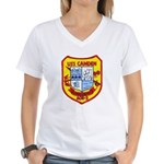 USS CAMDEN Women's V-Neck T-Shirt