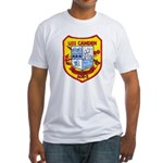 USS CAMDEN Fitted T-Shirt