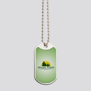Shady Pines Logo Dog Tags