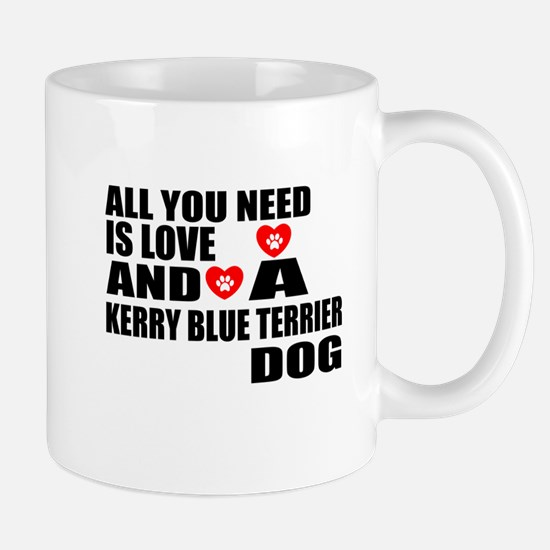 All You Need Is Love Kerry Blue Mug