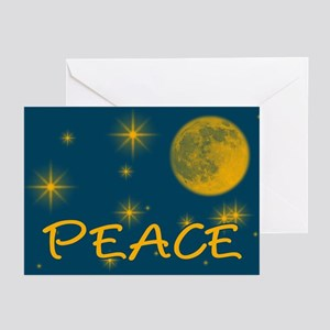 Peace with Starry Night Sky Holiday Cards Pk of 10