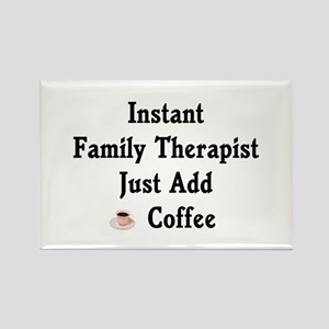 Family Therapist Rectangle Magnet (10 pack)