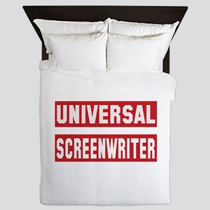 Universal Screenwriter Queen Duvet