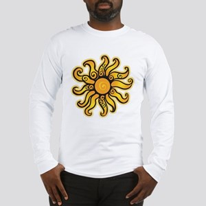 Swirly Sun Long Sleeve T-Shirt