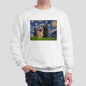 Starry - 2 Briards Sweatshirt